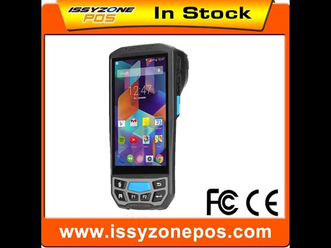 IPDA031 5 inch Android7.0 PDA Handheld Data Terminal with RFID/HF/NFC/UHF 58mm thermal printer