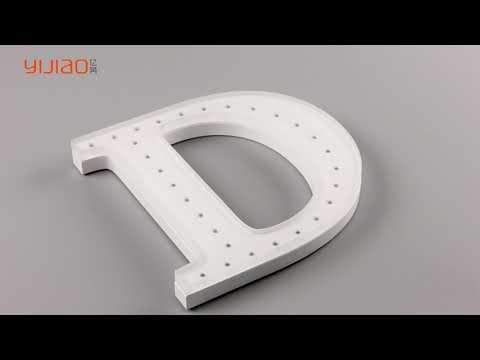 acrylic luminous letter sign | yijiao sign manufacturer