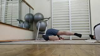 Часть 2 Упражнения для тренировки спины лежа на спине и на боку