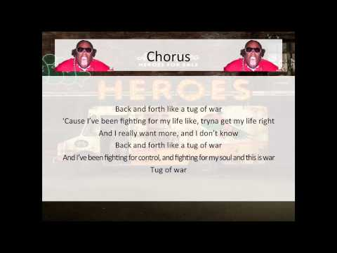 Andy Mineo - Tug of War (feat. Krizz Kaliko) - LYRICS