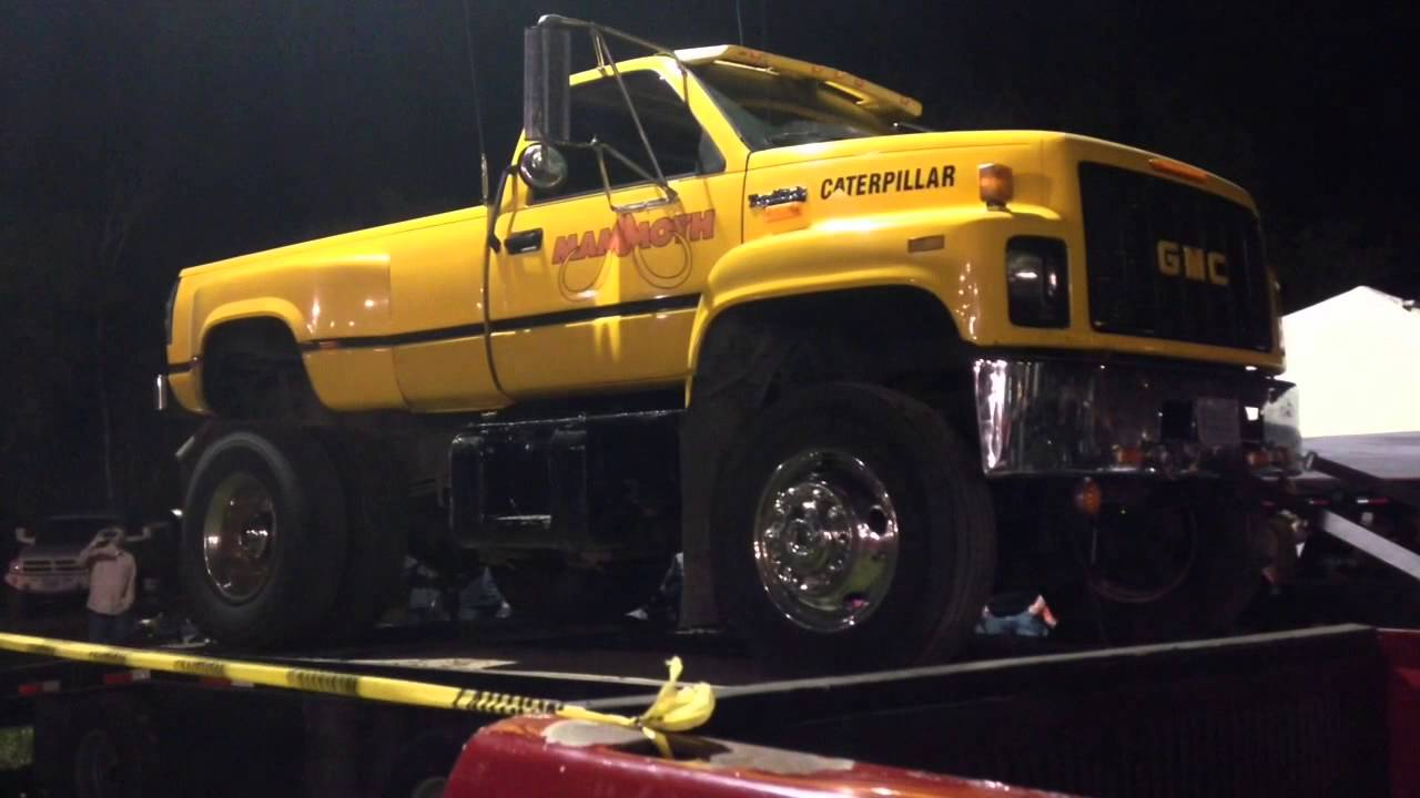 caterpillar engines in chevy trucks