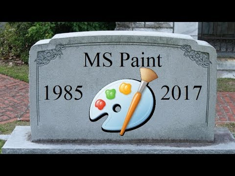 My Response to Windows Killing MS Paint (Nevermind They Decided Not to Kill It)