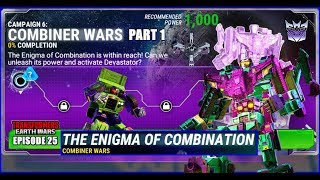TRANSFORMERS: COMBINER WARS PART 1 - THE ENIGMA OF COMBINATION