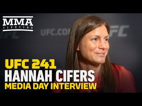 Hannah Cifers: 'It was neat' meeting Daniel Cormier and Anthony Pettis
