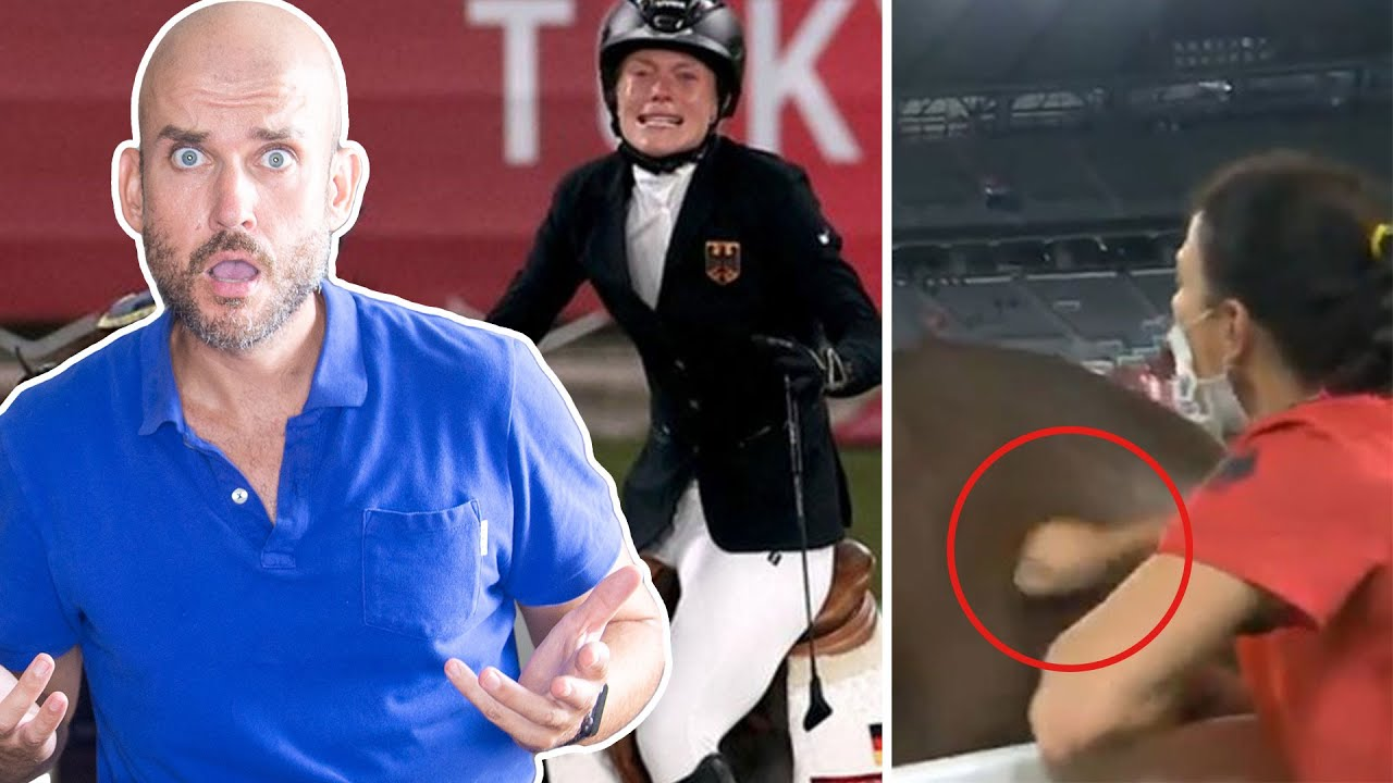 German pentathlon coach disqualified after punching horse in ...