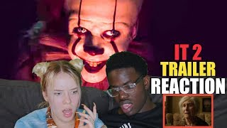 IT CHAPTER TWO - Official Teaser Trailer [HD] REACTION