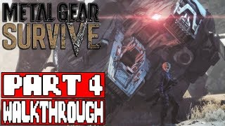 METAL GEAR SURVIVE Gameplay Walkthrough Part 4 ENDING - No Commentary