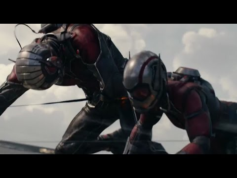 Ant Man (2015): El Ant Man original La Avispa se vuelve Subatómica HD
