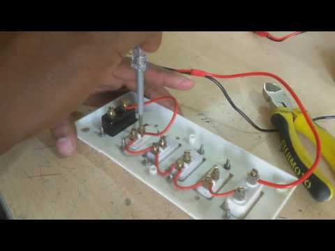 how to connect switch board |