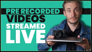 How to live stream a pre recorded video on YouTube using OBS screenshot 4
