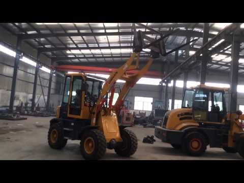 China 1.2 ton wheel loader from Shandong Tuishan Heavy Industry