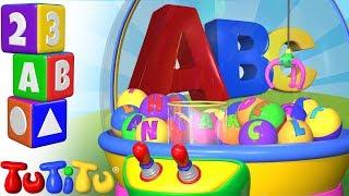 Изучение английского алфавита | Автомат с краном | TuTiTu дошкольный
