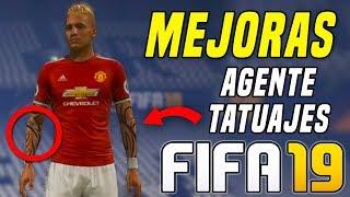 FIFA 19 | MEJORAS MODO JUGADOR (TATUAJES, REPRESENTANTE...)