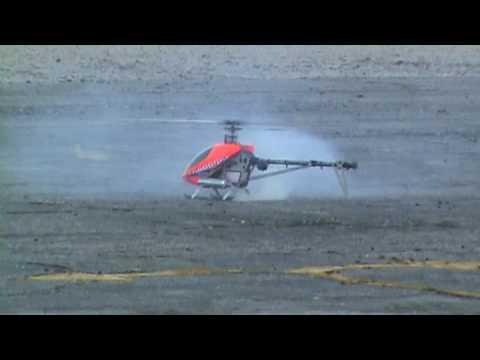 Helicoptero RC (Rafa Ceja) vuelo