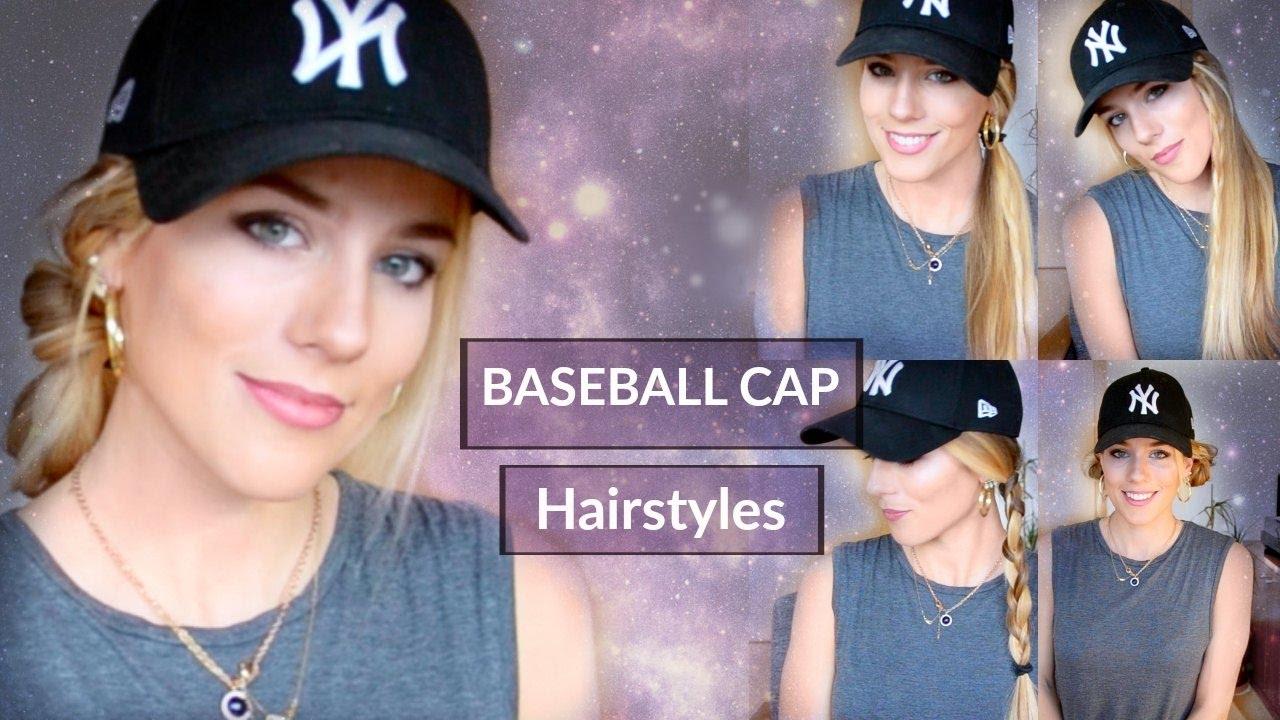 7 easy baseball cap hairstyles | maria