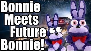 FNAF Plush - Bonnie Meets Future Bonnie!