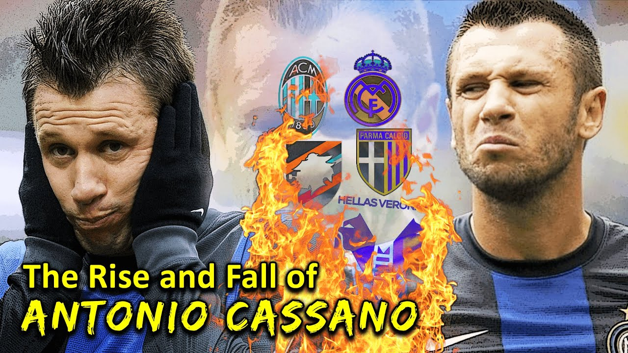 The Rebellious Career of Antonio Cassano