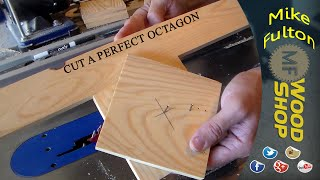 Mike's Mindful Minutes Quick Tip #2 (cut A Perfect Octagon)