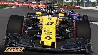 F1 2017 Saved the New Car
