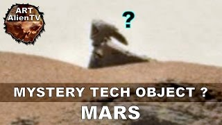 MARS STATUE or MYSTERY TECH OBJECT ? ArtAlienTV