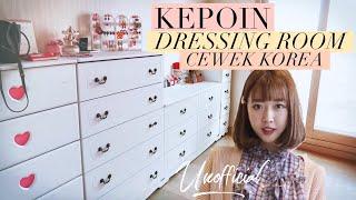 TUR DRESSING & MAKEUP ROOM AKU DI KOREA! (Edisi Apartemen Baru ) | Unofficial