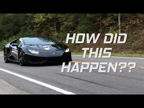 From a 370Z to a Lamborghini Huracan || Blacktop Rally Day 2
