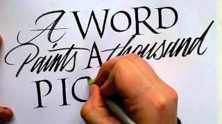 A word paints a thousand pictures.