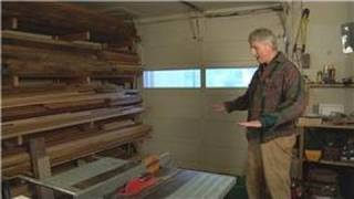 Home Remodeling Tips : How To Lay Out Your Home Wood Shop