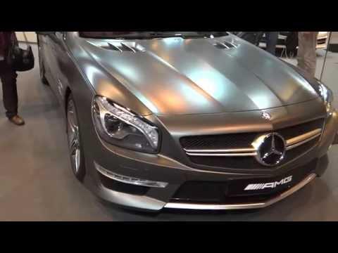 Mercedes-Benz SL 63 AMG at Madrid Motor Show 2014 | AutoMotoTV