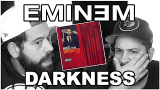 WHEN ENOUGH PEOPLE CARE!! Music Reaction | Eminem - Darkness (*Sad)