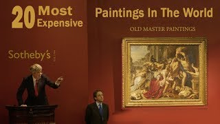 Top 20 Most Expensive Paintings in the World 2017