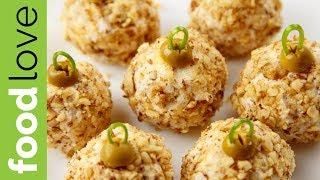 Эта ЗАКУСКА покорит всех гостей! Шарики с курицей, сыром и ананасом| Закуска на праздник | FoodLove