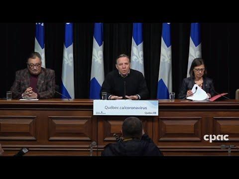 Mise à jour du Québec sur la COVID-19 - 21 mars 2020