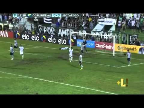 Coruripe 0 x 1 Botafogo   Gol & Melhores Momentos   05 04 2016 HD
