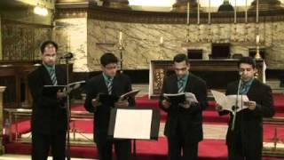 UK Malayalam CSI Parish Christmas Carols 2010 - Walking in the Air (Quartet)