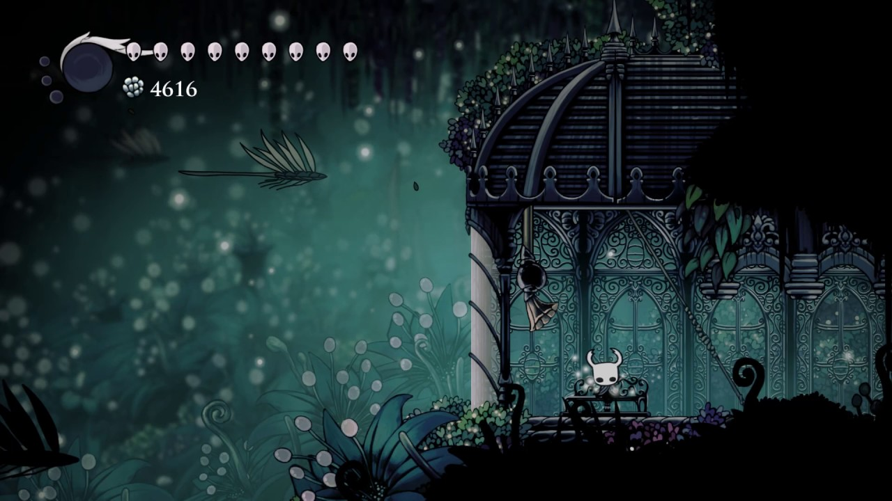 Hollow Knight Ambience Queen S Gardens Bench Gramophone