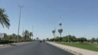 Streets deserted as temperatures soar in Kuwait City