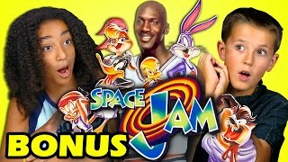 Video KIDS REACT TO SPACE JAM (20th Anniversary) (Bonus #158) download MP3, 3GP, MP4, WEBM, AVI, FLV Desember 2017