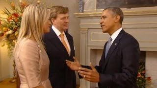 La química entre Obama y Máxima de Holanda