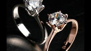 Позолоченное кольцо с АлиЭкспресс(Видео обзор отличного позолоченного кольца с полудрагоценным камнем (