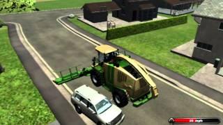 Farming Simulator 2011 Tricks & FAILS!