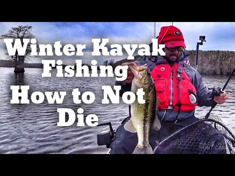 Kayak Fishing In The Winter - How To Be Safe In Cold Water