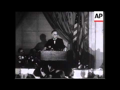 President Roosevelt's Lease and Lend Speech