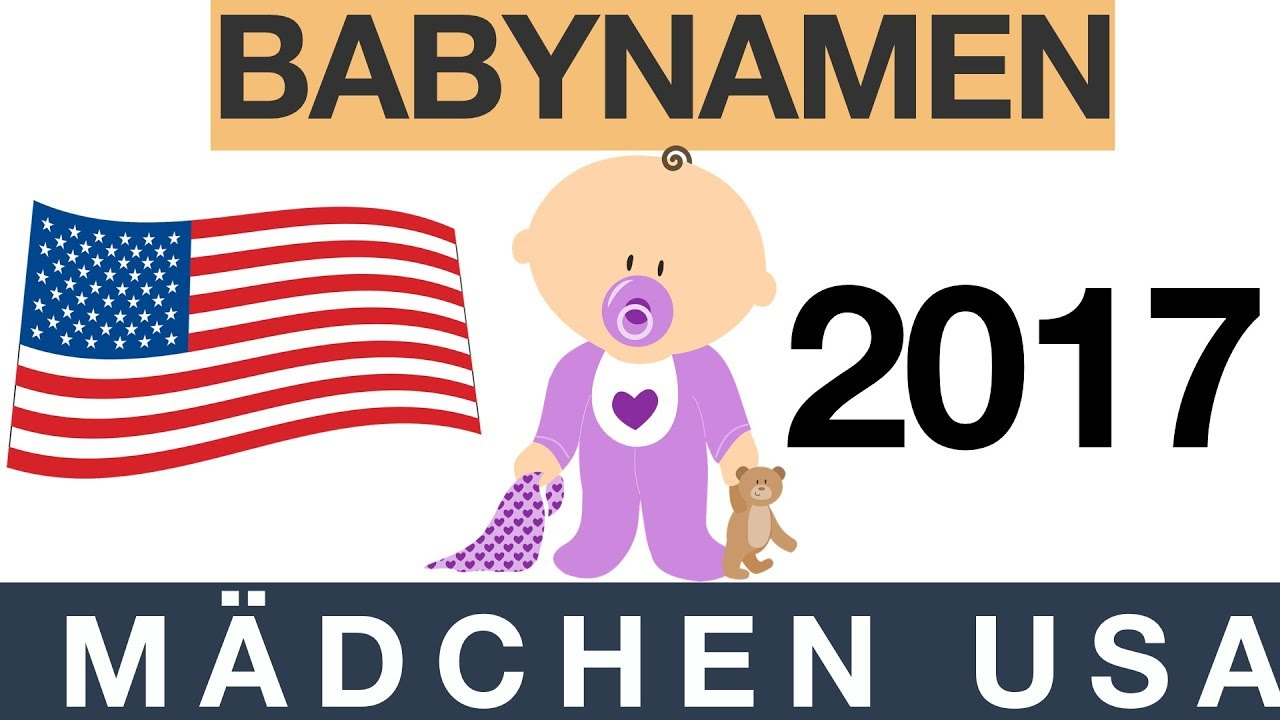 Babynamen Mädchen Top 10 Usa Youtube