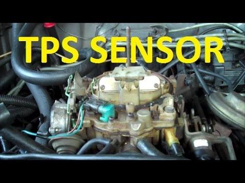 How To Replace Throttle Position Sensor Quadrajet Dualjet Carburetor