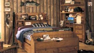 Lea 302-947 4/6 Full Bookcase Headboard From Jackson Creek
