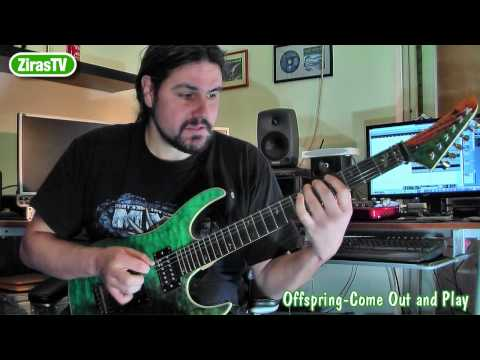 Offspring-Come out and Play Part1 (Guitar Lesson)