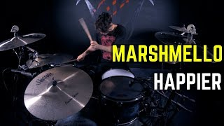 Marshmello ft. Bastille - Happier | Matt McGuire Drum Cover Mp3