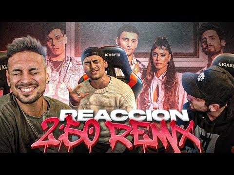 REACCIONANDO y ANALIZANDO @MYA , @TINI & @Duki - 2:50 Remix 🔥