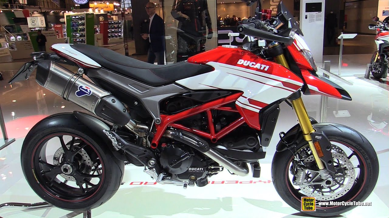 2016 ducati hypermotard 939 sp walkaround debut at. Black Bedroom Furniture Sets. Home Design Ideas